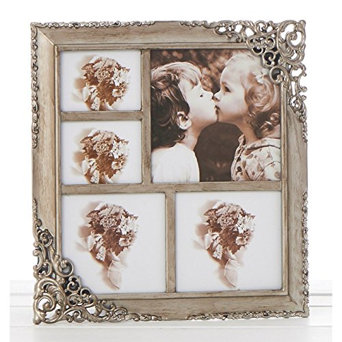 Vintage Style Ornate Rustic Metal Multi Photo Frame New Boxed by ukgiftstoreonline