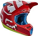 Fox V3 Creo Casco di motocross S (55/56) Rot