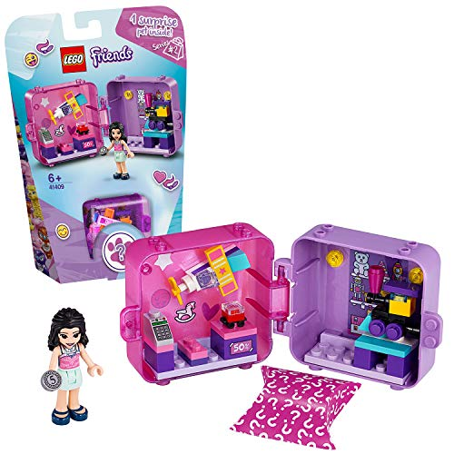 LEGO 41409 Friends Emmas magischer Würfel – Spielzeuggeschäft, Bauset, bunt
