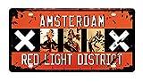 DiiliHiiri Placa De Matrícula Cartel Vintage para Pared de Chapa de Metal Diseño Creativo Decoraciones de Bar Pub...