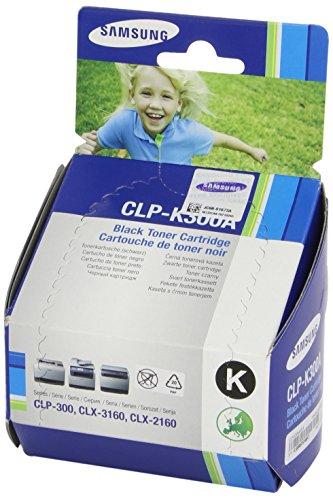 Samsung CLP-K300A/ELS Original Toner (Kompatibel mit: CLP-300/CLX-2160/CLX 3160 Series) schwarz
