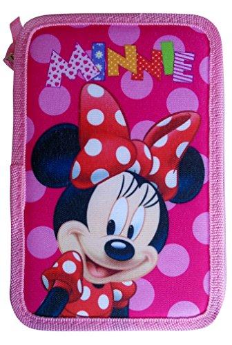 Disney Minnie Estuche Diferentes Compartimentos 195 X 125 X 60 Mm Ref. 82942