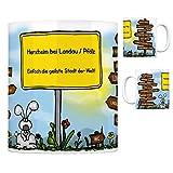 Herxheim bei Landau / Pfalz - Einfach die geilste Stadt der Welt Kaffeebecher Tasse Kaffeetasse Becher mug Teetasse Büro Stadt-Tasse Städte-Kaffeetasse Lokalpatriotismus Spruch kw Hayna Köln Paris