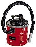 Einhell Aspirador de cenizas TC-AV 1618 D (1200 W, recogedor de 18 l con cierres de apertura rápida, filtro pliegues y prefiltro, función de soplado)