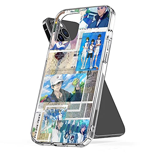Phone Case Tennis Pc No TPU Ouji-sama Waterproof Best Clear Games!! Funny Compatible for iPhone 6 6s 7 8 X Xs Xr 11 12 Se 2020 Pro Max Plus