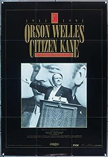Citizen Kane (1941) Original Video Release Poster (27x39) ORSON WELLES Very Fine