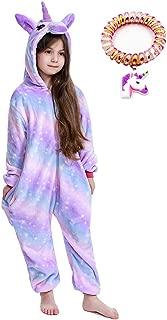 LANTOP Kid Unicorn Onesie Pajamas Girls Gift Christmas Halloween Cosplay Costume