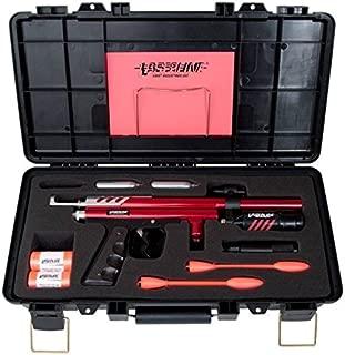 Rack a Tiers 83000 Laserline Kit A CO2 powered gun shoots a foam dart