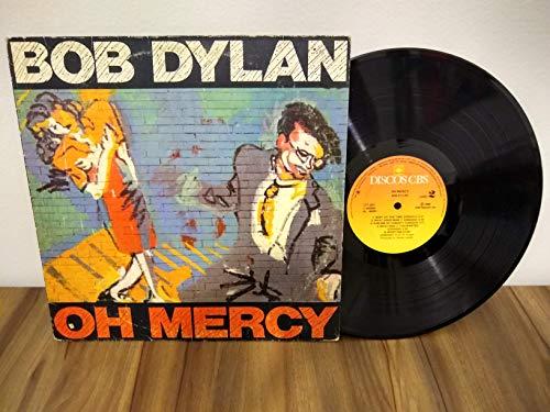 OH MERCY VINYL LP 1989 BOB DYLAN