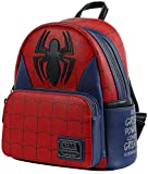 Loungefly Marvel Spider Man Classic Cosplay Womens Double Strap Shoulder Bag Purse