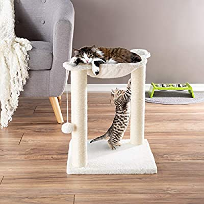 Cat Basket PETMAKER Cat Tree and Scratcher-... [tag]