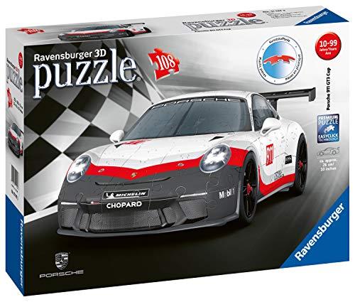 Ravensburger 111473 Porsche Gt3 Cup - 3D Puzzel - 108 Stukjes