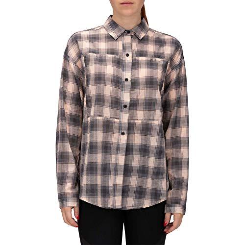 Hurley W Wilson Plaid Dolman L/S Camisas Mujer