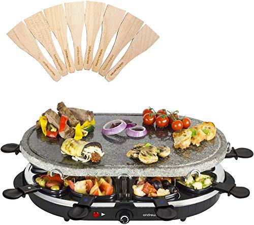 Andrew James Mini Pancake Raclette Attachment (Stone Raclette)