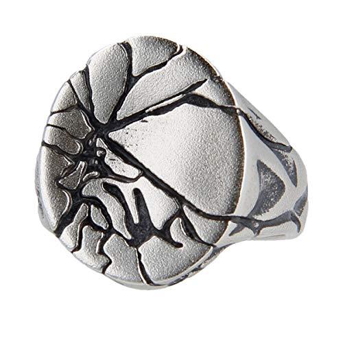 Pietro Ferrante Ring Broken Oval Silber 925 AAG4227