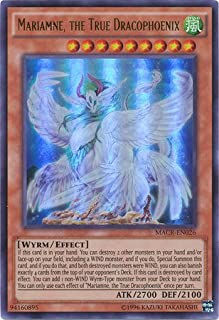 yu-gi-oh Mariamne, The True Dracophoenix - MACR-EN026 - Ultra Rare - Unlimited Edition - Maximum Crisis (Unlimited Edition)