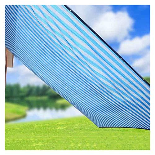 LYB Sombra Net Protector Solar Toldo Balcón Patio Suministros De Jardinería Ribete Cifrado Sombreado De Aislamiento Hay Un Agujero Cada 1 Metro, con La Cuerda De Tirón