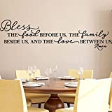 Kitchen Wall Stickers Home Decor, Dining & Cooking Quote Decal Heart Removable Vinyl Art...