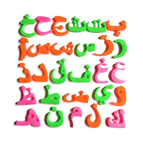 LOVEYue Mehrfarbiges Arabisches Alphabet Kühlschrank Magnet Aufkleber Kind Lernen Bildung Spielzeug, Perfekt Am Besten Für Kinder Intellektuelles Spielzeug Geschenkset