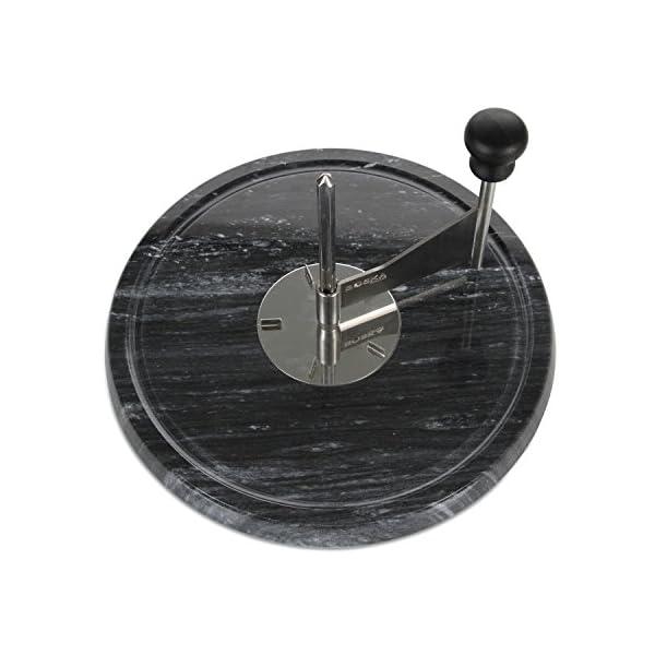 BOSKA 850520 Cortador de Queso Acero Inoxidable - Cortadores de Queso (Acero Inoxidable, Acero Inoxidable, Negro, 225 mm…