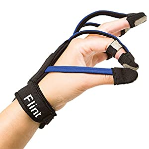 Music Glove: Hand Rehabilitation Device for Stroke, Spinal Cord Injury, Traumatic Brain Injury (Left Large) image