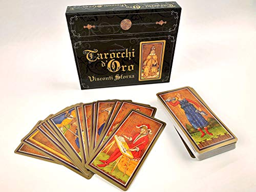 Tarocchi d'oro Visconti Sforza. Con 78 Carte