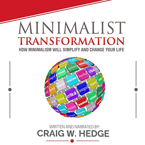 Minimalist Transformation audiobook cover art