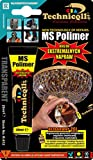 Technicqll Ms Polimer Clear Adhesive Glue For Metal Brass Ceramics Glass Stone Wood Rubber Steel Marble Universal