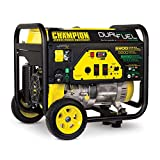 Champion Power Equipment 100231 6900/5500-Watt Dual Fuel Portable Generator with Wheel Kit