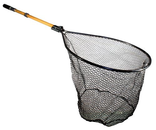 Frabill Conservation Series Landing Net with Camlock Reinforced Handle, 20 X 23-Inch, Premium Landing Net, Multi (9510)
