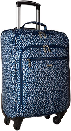Baggallini 4 Wheel Carry-on, blue prism