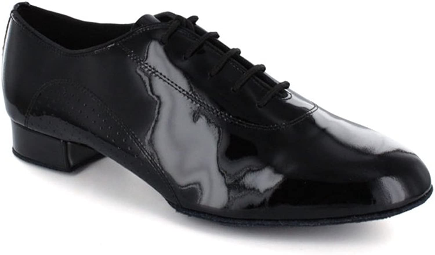 TDA Men's Casual Laceup Patent Leather Ballroom Latin Dance shoes