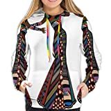 Women's Hoodies Sweatshirts,Young Women in Stylish Native Costumes Carnival Festival Theme Dance Moves XL