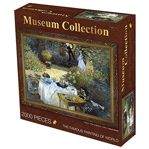 Puzzle Adultos Puzzles de 2000 Piezas Las dificultades Mona Lisa Rompecabezas de la Vendimia for el Adulto Art Puzzle Literatura for Wall (Color : 7)