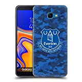 Official Everton Football Club Camouflage CREST Hard Back
