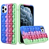 XNMOA Compatible with iPhone 11 Pro Max Bubble Phone Case,Push Sensory Phone Toys Silicone Gel Rubber Push Bubble Toy Case Relief Stress Toy Protective Cover for iPhone 11 Pro Max 6.5 inch