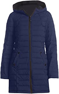 HFX Women's Blue Down Stretch Halitech Coat