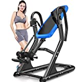 Weight Capacity Inversion Table Trainer Inverted Table, Reduces Back Pain, Stress/Improves Posture and Flexibility, Maximum User Weight 100 Kg