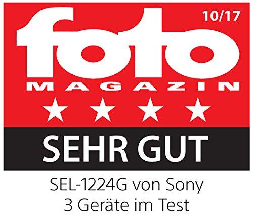 Sony SEL-1224G G Ultra-Weitwinkel-Zoom Objektiv (12-24 mm, F4, OSS, Vollformat, geeignet für A7, A6000, A5100, A5000 und Nex Serien, E-Mount) schwarz