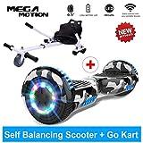 Mega Motion Hoverboard Elettrico 6.5'' E-Star, Scooter Elettrico Auto bilanciamento, Ruote con LED,...