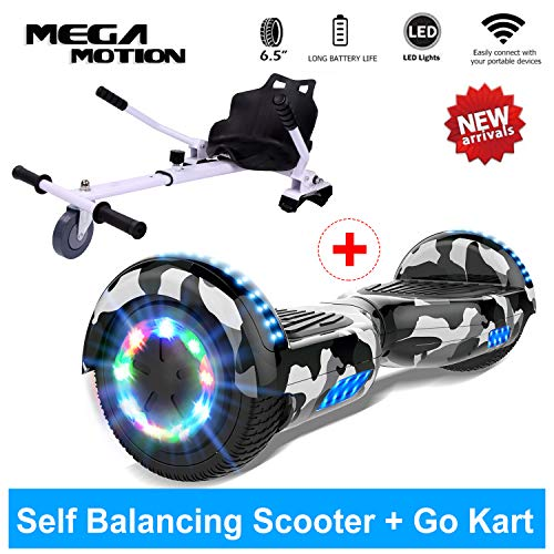 Mega Motion Hoverboard Self Balance Scooter Elettrico 6.5'' E-Star, Scooter...