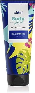 Plum BodyLovin' Hawaiian Rumba Shower Cream (Body Wash) | Deep Moisturization | All Skin Types Esp. Dry Skin | Sulphate-Fr...