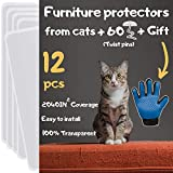 Best Couch Protectors - Cat Furniture Protector 12 Pack - Cat Couch Review