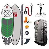 grandtoursports*com Tabla de paddle surf de remo, 140 x 442 x 20 cm, 950 l hasta 600 kg, hinchable, tabla de surf de remo, GTS Excursion 14,5, incluye juego de accesorios