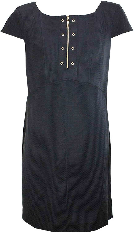 Ellen Tracy Black HalfZip Dress12 P Msrp