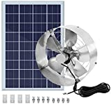 Best Solar Attic Fans - ECO-WORTHY 50W Solar Attic Fan System with 38Wh Review