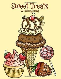 Sweet Treats: A Coloring Book