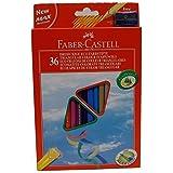 Faber-Castell 040197.93 Astuccio 36 Pastelli Triangolari Eco