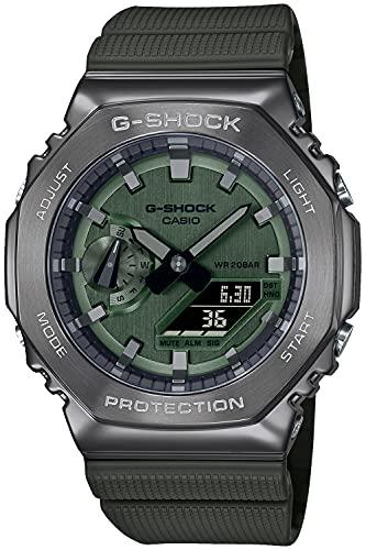 [カシオ] 腕時計 ジーショック メタルカバード GM-2100B-3AJF メンズ グリーン