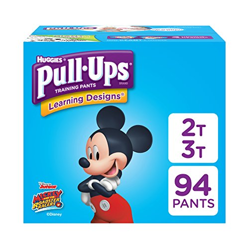 Pull-Ups Learning Designs Potty Training Pants for Boys, 2T-3T (18-34 Pounds), 94 Count (Packaging May Vary)